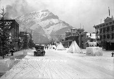 Main Street Banff 1929