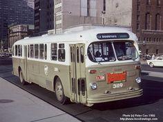Montreal, 1966 le bus de mon enfance !
