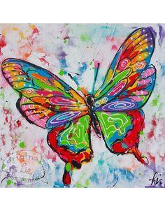 schilderij vlinders - Google zoeken