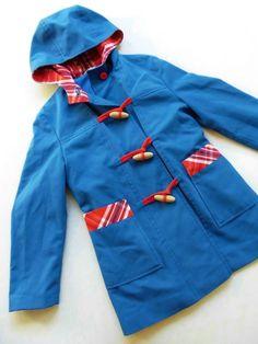 Kinderkleidung - 116 Jacke ManTel PaRkA VinTage retro 70er WalDorf - ein Designerstück von LIEBKIND-bremen bei DaWanda
