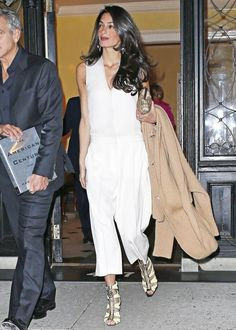 We're obsessed with Amal Clooney's shoes.
