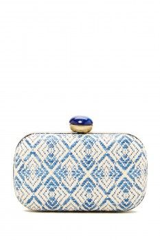 Urban Expressions Urban Expressions Laguna Woven Clutch
