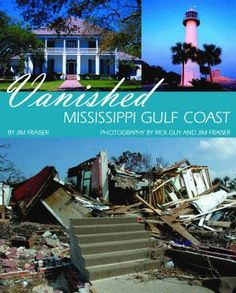 Beautiful Scenic Mississippi Gulf Coast  - antebellum houses along the waterline prior to Katrina