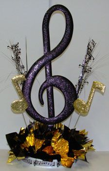 Large G-Clef Centerpiece