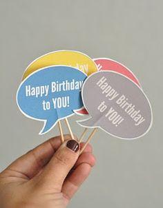Birthday Bubbles - Thirty Handmade Days