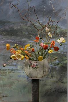 Painting by Claire Basler.
