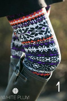 Fur Lined Print Leggings! 12 Styles Available! | Jane