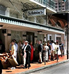 """Galatoires...most famous """"LINE"""" in the USA....""""do Friday lunch"""" I know it used to be not sure if that still holds true"""