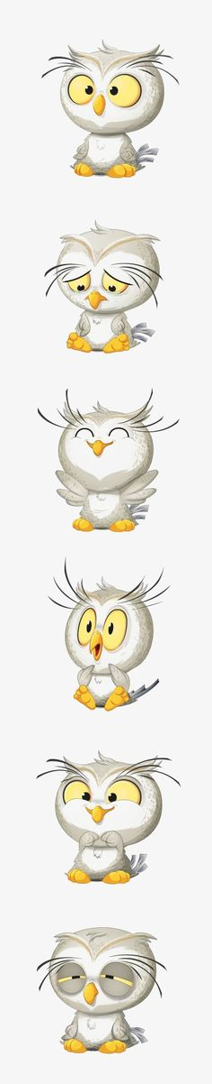 Cartoon owl, Hand Painted Owl, Owl Baby, Animal Illustration PNG Image