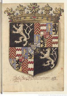 « La descente et généalogie de la très illustre maison d'Egmond, par Jean Scohier, Beaumontoys ».