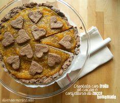 Buongiorno con una #crostata con frolla al cacao e confettura alla #zucca #homemade! http://diversamentelatte.altervista.org/crostata-con-frolla-al-cacao-e-confettura-di-zucca-homemade