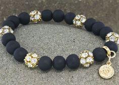 Astoria Couture - Astoria/Volcano Strechy Bracelet , $99.00 (http://www.astoriacouture.com/astoria-volcano-strechy-bracelet/)