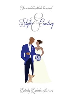 Bridal Shower Invitation African American Bride Wedding Invitations Pinterest Brides And