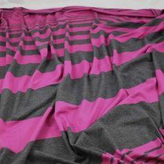 Vari Stripes Rayon Jersey -- Printed Jersey Archives - Gorgeous FabricsGorgeous Fabrics