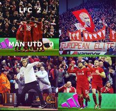 WE WON!! Let us know what you thought about the match.  #LFC #MUFC #EuropaLeague #ynwa #Klopp #Firmino #Sturridge #wegoagain
