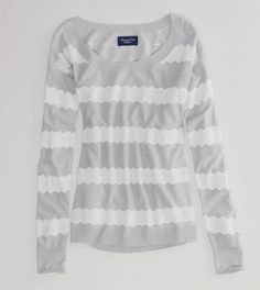 AE Knit Lace Sweater