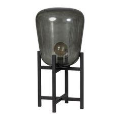 ETH Benn Tafellamp Retro Lamp, Charcoal Grill, Led Lamp, Stool, Lights, Diamond, Metal, Outdoor Decor, Furniture