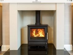 Heta inspire 45 The Heta Inspire 45 is a brand new clean burn stove and can be used for wood burning or multifuel use. The Inspire 45 is a landscape model and is fitted with a cast iron door with a large view of the fire. The inspire has … Log Burner Living Room, Wood Burner Fireplace, Log Burning Stoves, Wood Burning, Cosy Lounge, Long Room, Landscape Model, Room For Improvement, Chimney Breast