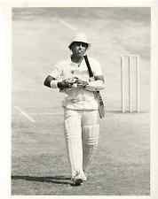 Inde, Madras, Cricket, India v England, Sunil Gavaskar vintage print, UK Tirag