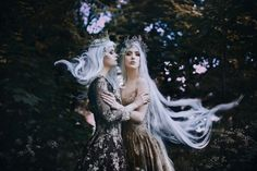 Bella Kotak Photography Models: Nina Sever & Kerry Ann MUA: Lydia Pankhurst Make-up and Hair Artist Skin retouching: Solstice Retouch Royal Photography, Fantasy Photography, Fashion Photography, Fantasy Inspiration, Story Inspiration, Character Inspiration, Bella Kotak, Elfa, Beaded Gown