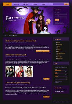 27 best halloween web templates images on pinterest coffee break best halloween templates and illustrations photoshop tutorial maxwellsz