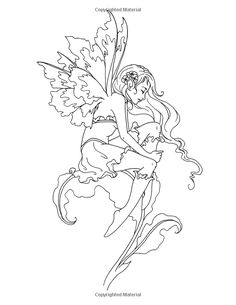 Amazon.com: Amy Brown Faeries Coloring Book (9781523651603): Amy Brown: Books