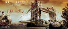 """I Am Legend"" Movie Promo Banner Poster - Zombie Apocalypse"