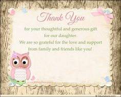 77 Best Baby Shower Thank You Cards Images Baby Shower Thank You