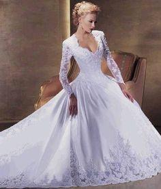 Vestidos-de-noiva-de-manga-comprida