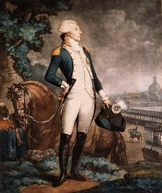 Le Marquis de La Fayette, Commandant Général de la Garde Nationale.