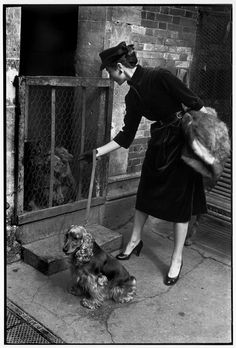 Bettina photographed by Henri Cartier-Bresson, 1951