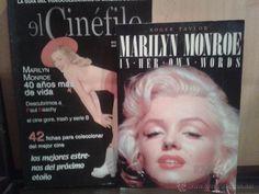 LOTE DE LIBRO DE MARILYN MONROE Y REVISTA