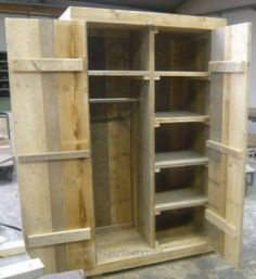 Armoire, Create A Board, Crates, Tall Cabinet Storage, Bookcase, Shelves, Interior, Furniture, House Ideas