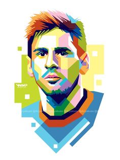 also available for custom WPAP, just sent me a note if you interested. Lionel Messi in WPAP Abstract Face Art, Abstract Portrait, Portrait Art, Messi Drawing, Messi Poster, Lionel Messi Wallpapers, Messi Vs, Caricature, Pop Art Drawing