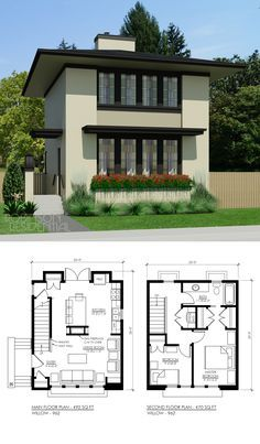 Contemporary Prairie Style House Plans Elegant Nice Floor Plan Needs A Half Bath On the Main Floor Do Not Modern House Plans, Small House Plans, Modern House Design, House Floor Plans, Home Design, Plan Design, Future House, My House, House Design Pictures