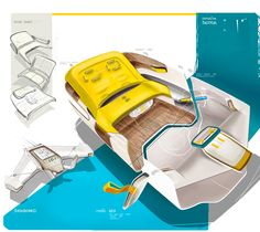 LEVEL 5 / Car interior concept on Behance