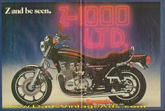 "1977 Kawasaki KZ-1000 LTD – ""Z and be seen."""