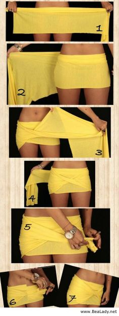 A way to make a skirt - BeaLady.net