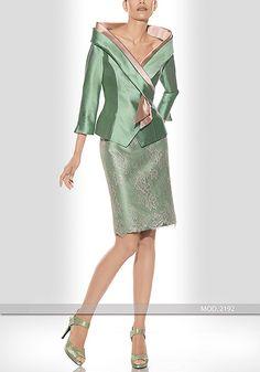 Vestido de madrina corto de Teresa Ripoll modelo 2192