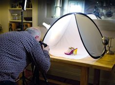 Product photography: tips for using a light tent for irresistible images