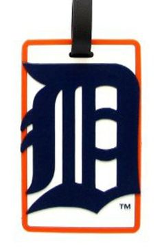 Detroit Tigers  MLB Soft Luggage Bag Tag >>> Find out more about the great product at the image link.Note:It is affiliate link to Amazon. #iphoneonly
