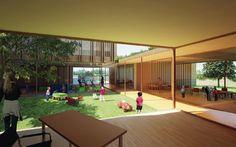 Foyer pour adolescents et foyer de l'enfance, Mantes-la-Jolie, Emmanuelle Colboc - Projet laureat