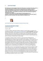 A propos des therapies en ligne  A propos des therapies en ligne par Yann Leroux