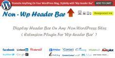 Non Wp Header Bar