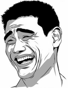 Man illustration, Yao Ming Chinese Basketball Association Meme Shanghai Sharks Trollface, will smith transparent background PNG clipart