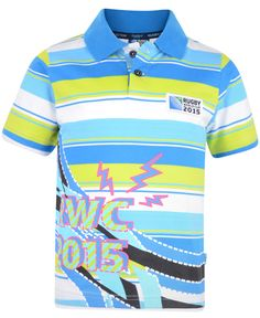 Rugby World Cup 2015 Kid's Bright Polo. £19.99