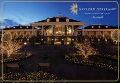 Gaylord Opryland - Nashville outside view