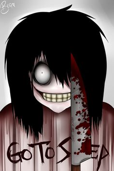 Jeff the Killer Creepypasta fan art | JEFF THE KILLER by *MintySweets on deviantART