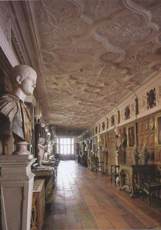 Great hallway Powis castle