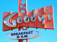 Just by the style of the sign, you can tell Goody's has been here forever